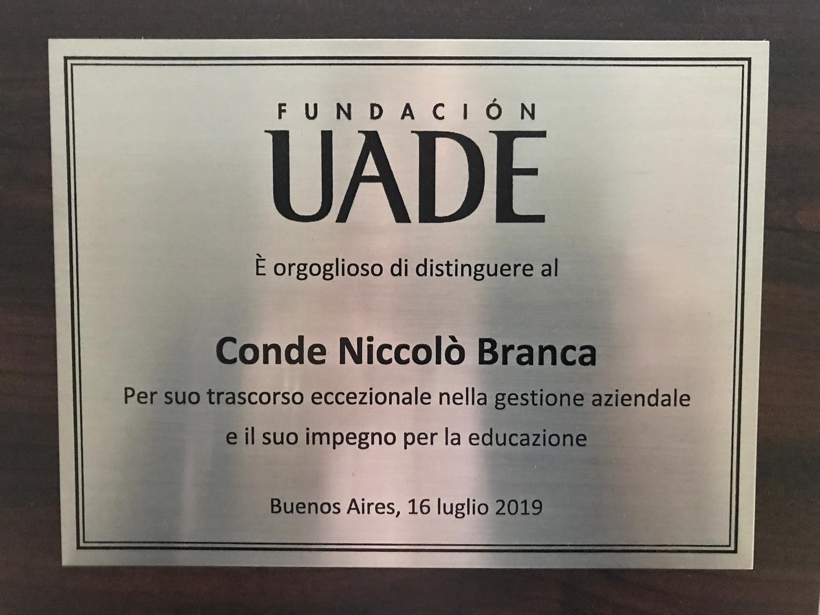 Buenos Aires incontro alla UADE